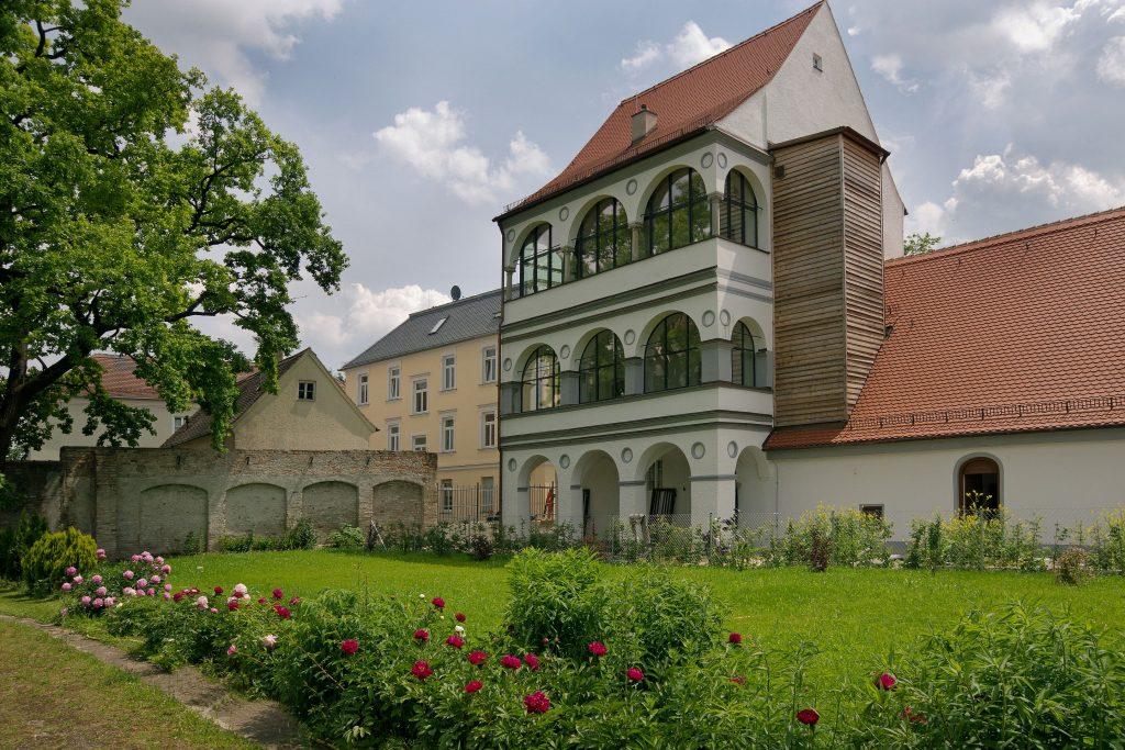 Renaissance-Arkaden mit Stephansgarten